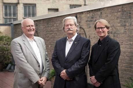 Tim Larsen, Jim Johnson and Eric Madsen Photo credit: Ken Friberg, 2012