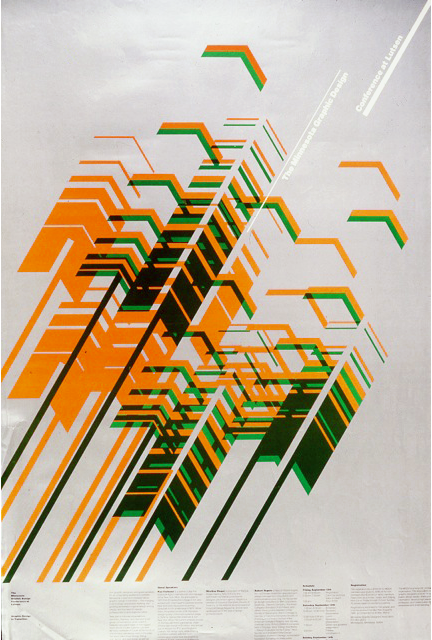 Lutsen Design Conference Poster, designed by Dick Stanley, 1980