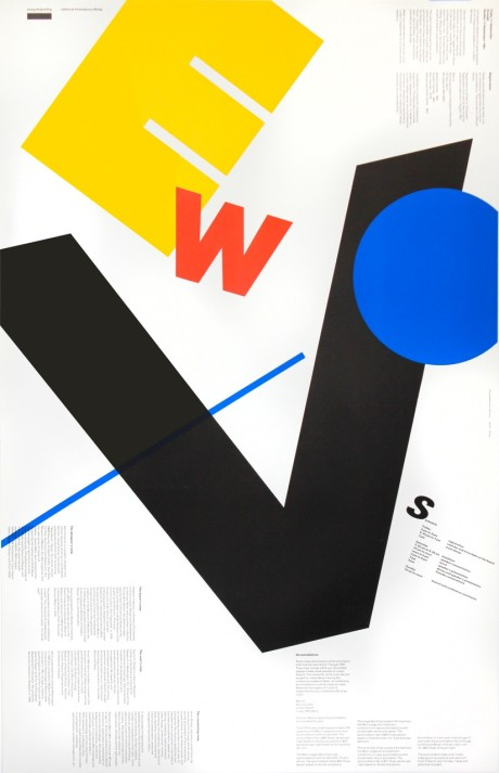 Lutsen Design Conference Poster, designed by Robert Jensen, 1981