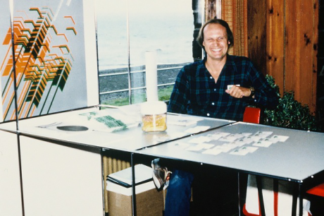 Tim Larsen, MGDA President and Chairman of the Lutsen Design Conference, 1980