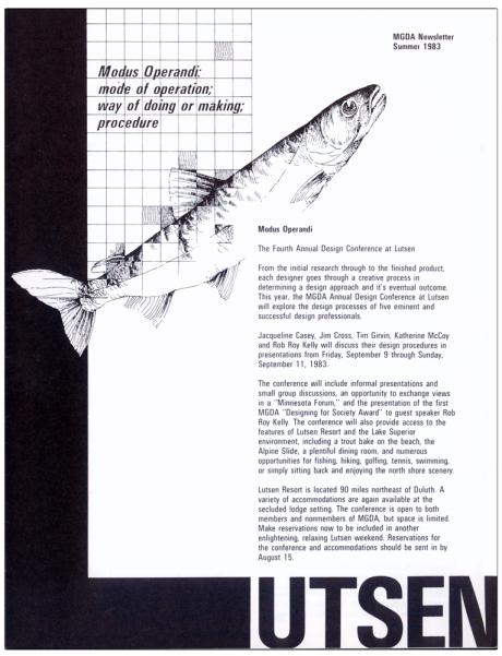 MGDA Newsletter, Summer 1983