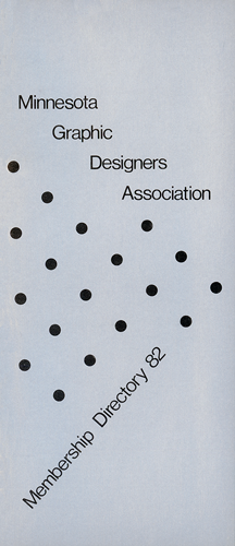 GDA Membership Directory, Designer: Christina Bloomquist and Monica Little, 1982
