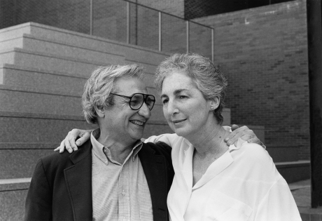 Frank Gehry and Mildred (Mickey) Friedman, Photographer: Unknown, 1986