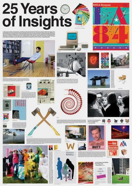 Insights Design Lecture Series Poster, Designers: Andrew Blauvelt and Emmet Byrne, 2011