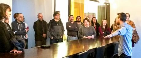 Solopreneurs visit KNOCK 3 - Dining Table (Sandra Theis)