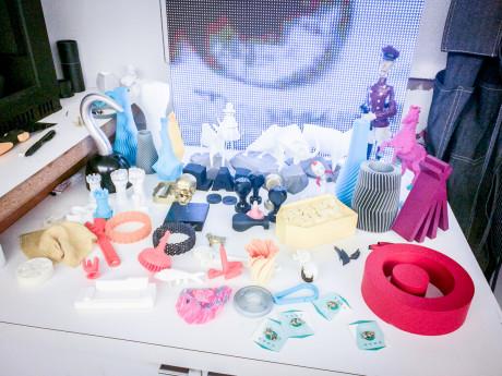 Solopreneurs visit KNOCK 4 - 3D Samples (Sandra Theis)